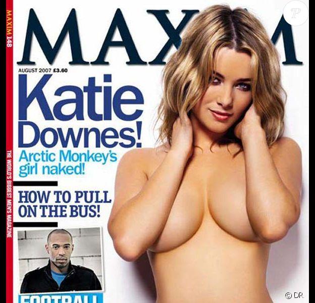 La très sexy Katie Downes en couverture de Maxim !