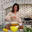 """Selena Gomez dans l'émission """"Selena + Chef"""", le 1er septembre 2020."""