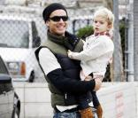 Gavin Rossdale et Kingston à Hollywood le 11 octobre 2009
