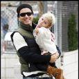 Gavin Rossdale et son fils Kingston à Hollywood le 11 octobre 2009