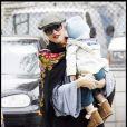 Gwen Stefani et Zuma à Hollywood le 11 octobre 2009