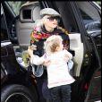 Gwen Stefani et Kingston à Hollywood le 11 octobre 2009