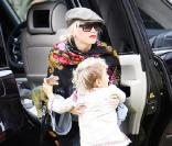 Gwen Stefani et Kingston à Hollywood le 11 octobre 2009