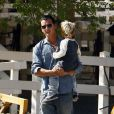 Gavin Rossdale et Kingston (10 octobre 2009-Beverly Hills)