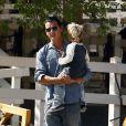 Gavin Rossdale et Kingston (10 octobre 2009-Beverly Hills)