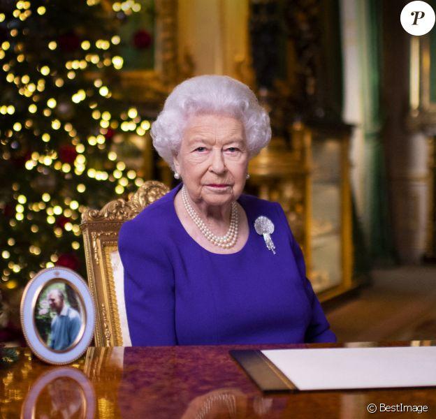 La reine Elisabeth II d'Angleterre a présenté ses voeux de Noël.