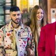 Naissance - Gigi Hadid et Zayn Malik sont parents d'une petite fille - Gigi Hadid et Zayn Malik sont allés dîner au restaurant IL Buco avec B. Hadid et D. Lipa pour l'anniversaire de Yolanda Hadid (la mère de Bella et Gigi) à New York, le 11 janvier 2020. Gigi Hadid et Zayn sont-ils de nouveau en couple?