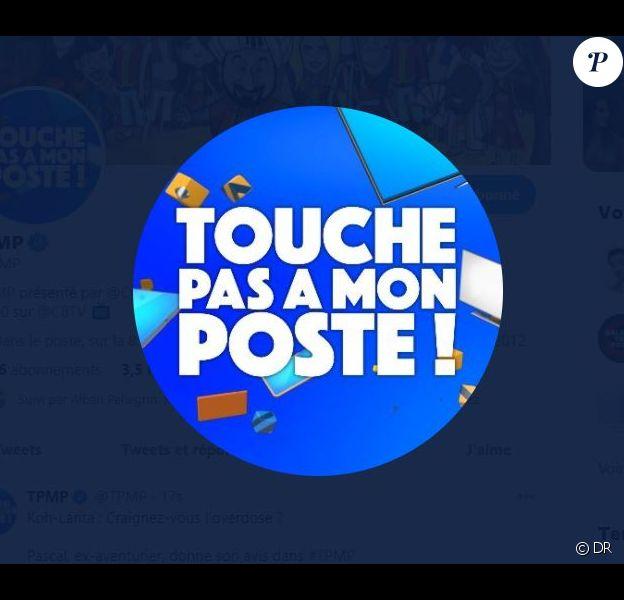 """Logo """"Touche pas à mon poste"""""""
