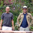 Owen Wilson et Woody Harrelson pendant leur voyage au Pérou