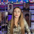 """Delphine Wespiser - Enregistrement de l'émission """"Touche Pas à Mon Poste (TPMP)"""", présentée par C.Hanouna et diffusée sur C8 le 2 décembre 2020 © Jack Tribeca / Bestimage"""