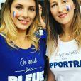 Camille Cerf et sa soeur jumelle Mathilde complices sur Instagram