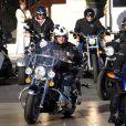 Le roi Abdullah II, époux de Rania de Jordanie, joue au biker avec ses amis, à Bordeaux, en France ! Vroum !