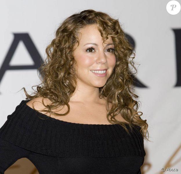 Mariah Carey à Séoul en Corée, lors d'une conférence de presse pour la promo de son nouvel album, Memoirs of an Imperfect Angel.