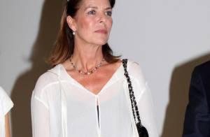 Caroline de Monaco : Elégante à souhait... Elle fait face !