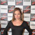 Audrey Sarrat, à l'occasion de la Casio Party pour les 25 ans de leur modèle-phare - la G-Shock -, au Musée de l'Homme, à Paris, le 13 octobre 2009 !
