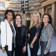 Sonia Rolland, Estelle Lefébure, Delphine Viguier-Hovasse - Les people au défilé L'Oréal Paris 2019 à la Monnaie de Paris le 28 septembre 2019 pendant la fashion week.