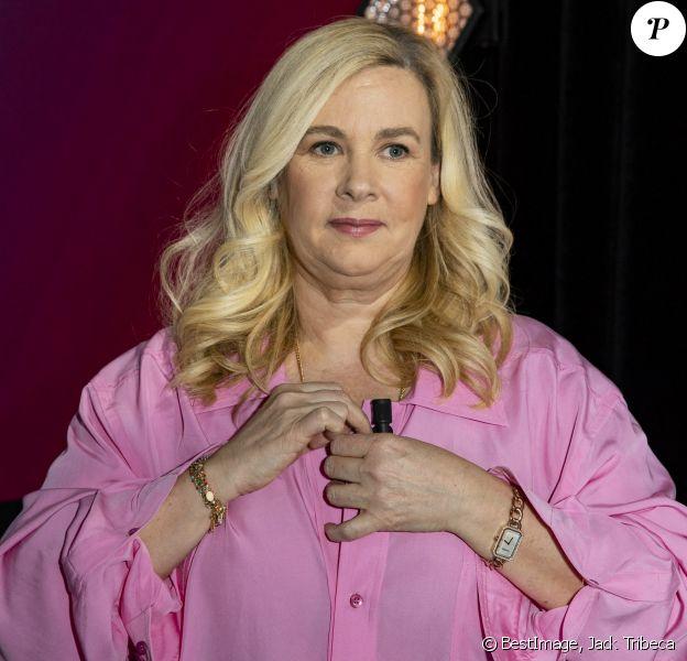 """Exclusif - Hélène Darroze - Enregistrement de l'émission """"Clique"""" présentée par M. Achour sur Canal Plus à Issy-les-Moulineaux. © Jack Tribeca/Bestimage"""