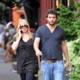 Jeremy Sisto et sa compagne Addie Lane à New York en septembre 2009