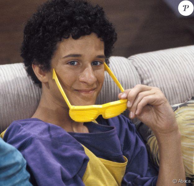"""Dustin Diamond jouait Screech la série télé """"Sauvés par le gong""""."""