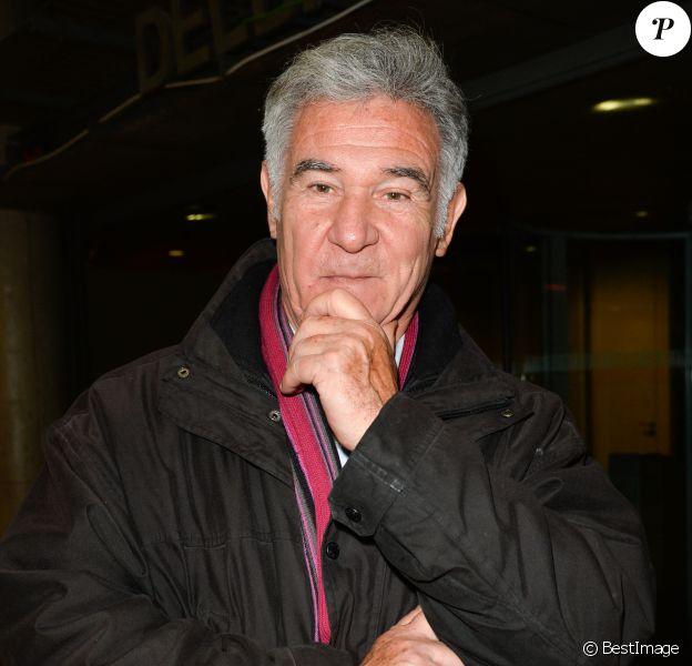 Georges Pernoud lors de l'hommage à Rémy Pflimlin dans les locaux de France Télévision à Paris.