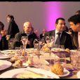 """La famille de Rachida Dati au dîner organisé par """"C'est à vous"""", au profit de la Fondation des Hôpitaux de Paris-Hôpitaux de France. 14/10/09"""