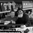 Arthur et son ami David Zaoui, rabbin décédé.