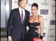 Halle Berry, étincelante avec son chéri, dans une robe qui met son décolleté... très sensuellement en valeur  !