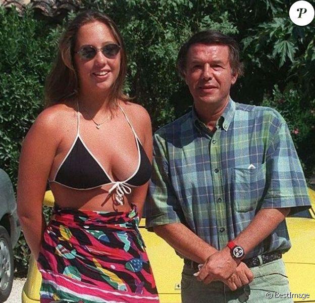 Salvatore Adamo et sa fille Amélie - Archives