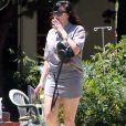 Exclusif - Amanda Bynes a un nouveau tatouage sur la jambe gauche. Los Angeles, le 12 juin 2020.