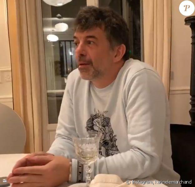 Stéphane Plaza de retour en colocation chez Karine Le Marchand - Instagram, 21 janvier 2021
