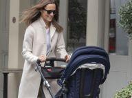 Pippa Middleton enceinte : promenade en manteau Zara recyclé... mais sans masque !