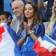 Tiziri Digne au match d'ouverture de l'Euro 2016, France-Roumanie au Stade de France, le 10 juin 2016. © Cyril Moreau/Bestimage10/06/2016 - Saint-Denis
