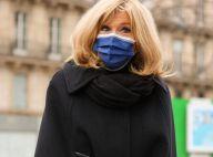 Brigitte Macron : Look d'hiver sobre et moderne pour un dernier hommage à Pierre Cardin