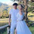 Mauro Icardi et son épouse Wanda Icardi. Janvier 2021.