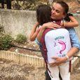 Géraldine Lapalus est en couple avec Julien Sassano depuis 2001, avec qui elle a une fille June, née en 2013 - Instagram