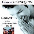 Laurent Hennequin présentera son premier album, Je m'envole, le 28 octobre au Réservoir
