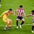 Lionel Messi lors du match Athletic Club Bilbao - FC Barcelone, le 6 janvier 2021.