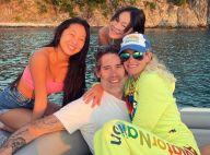 Laeticia Hallyday et Jalil Lespert : Vacances de l'amour et hôtel 5 étoiles avec Jade et Joy
