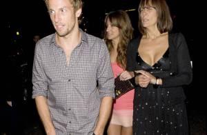 Jenson Button : le champion fête son titre... mais où est sa chérie ?