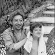 Archives - Serge Gainsbourg et sa fille Charlotte à Saint-Tropez.