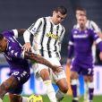 Alvaro Morata, photographié lors du match de football en Serie A Juventus contre Fiorentina (0-3) à Turin, souffre du cytomégalovirus. © Inside / Panoramic / Bestimage