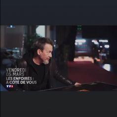 """Premières images du spectacle 2021 des """"Enfoirés"""", diffusé le 5 mars 2021 sur TF1."""