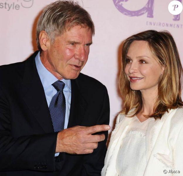 Harrison Ford et Calista Flockhart, à l'occasion du 20e anniversaire de l'Environmental Media Association, qui s'est tenu aux Studios Paramount d'Hollywood, à Los Angeles, le 25 octobre 2009 !