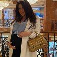 Laura Lempika enceinte de Zlatan, le 16 octobre 2020