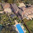 Exclusif - Vues aériennes de la nouvelle propriété du prince Harry, duc de Sussex et Meghan Markle, duchesse de Sussex dans le quartier de Montecito à Los Angeles, le 12 août 2020