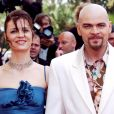 """Clovis Cornillac et Caroline Proust - Montée des marches du film """"Selon Charlie"""" - 59e Festival de Cannes."""