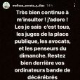 Mélissa, l'épouse de Pierre Ménès, insultée sur les réseaux sociaux le 22 mars 2021