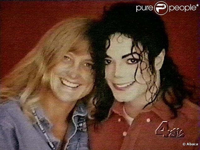 Michael Jackson et Debbie Rowe