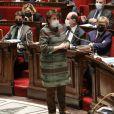 Roselyne Bachelot, ministre de la Culture - Séance de questions au gouvernement à l'Assemblée Nationale, à Paris, France, le 16 mars 2021. © Stéphane Lemouton/Bestimage