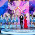 Finale du concours Miss Russie 2018 à Moscou le 14 avril 2018.